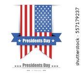 illustration of presidents day... | Shutterstock .eps vector #557179237