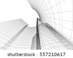 architecture building | Shutterstock .eps vector #557210617