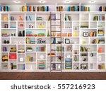 3d illustration of white... | Shutterstock . vector #557216923