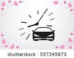 car icon vector illustration. | Shutterstock .eps vector #557245873