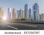 building in pudong  lujiazui ... | Shutterstock . vector #557250787