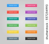 set of colored buttons. web... | Shutterstock .eps vector #557254993