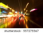 abstract traffic with color... | Shutterstock . vector #557275567