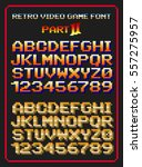 Retro Video Game Font 2