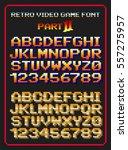 Retro Video Game Font 2