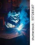 welder | Shutterstock . vector #557283187
