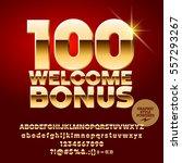 vector casino banner 100... | Shutterstock .eps vector #557293267