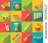 Musical Instruments Color Icon...