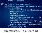 software development life cycle ... | Shutterstock . vector #557307613
