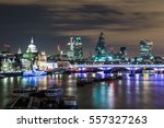 part of the london skyline at... | Shutterstock . vector #557327263