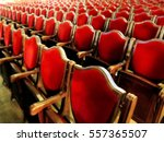 the interior of the theater... | Shutterstock . vector #557365507