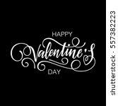 happy valentine's day vector...   Shutterstock .eps vector #557382223