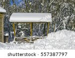 Abstract Winter Scene With A...