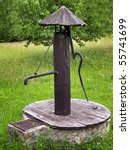 Old Antique Water Pump In...