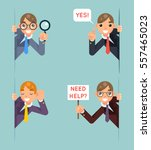 help support listen overhear...   Shutterstock .eps vector #557465023