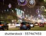 bucharest  romania   january 08 ... | Shutterstock . vector #557467453