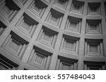 interior dome of thomas... | Shutterstock . vector #557484043