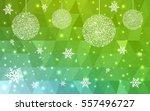 light green  yellow vector... | Shutterstock .eps vector #557496727