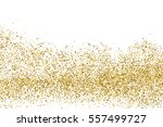 gold glitter texture isolated... | Shutterstock .eps vector #557499727