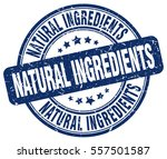natural ingredients. stamp.... | Shutterstock .eps vector #557501587