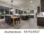 luxury new construction home... | Shutterstock . vector #557515927