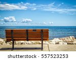 A Park Bench Overlooking The...