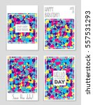 abstract vector layout... | Shutterstock .eps vector #557531293