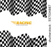 racing background with race... | Shutterstock .eps vector #557534887