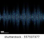 sound waves. music digital... | Shutterstock .eps vector #557537377
