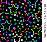 abstract seamless stars pattern.... | Shutterstock . vector #557547913
