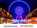 paris france december 24  2016  ... | Shutterstock . vector #557561407