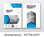 business brochure design.... | Shutterstock .eps vector #557561947