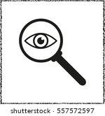 search glass    black vector... | Shutterstock .eps vector #557572597