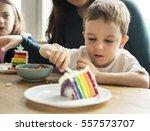 family people feelings... | Shutterstock . vector #557573707