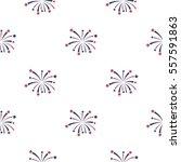 patriotic fireworks icon in... | Shutterstock .eps vector #557591863