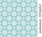 vector seamless snowflakes or... | Shutterstock .eps vector #557636317