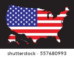 united states of america map... | Shutterstock .eps vector #557680993
