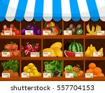 Fruit Display Of Shop  Store O...