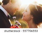 sunshine portrait of happy... | Shutterstock . vector #557706553