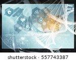 media medicine background image ... | Shutterstock . vector #557743387