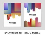 abstract vector layout... | Shutterstock .eps vector #557750863