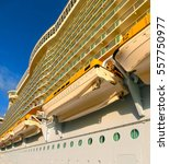 Small photo of Barcelona, Spain - September 07, 2015: Royal Caribbean International, Allure of the Seas