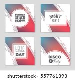abstract vector layout... | Shutterstock .eps vector #557761393