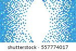 blue and white pixel background.... | Shutterstock .eps vector #557774017