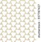seamless golden background for... | Shutterstock .eps vector #557787427