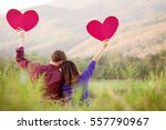 loving couple. beautiful young... | Shutterstock . vector #557790967