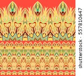 Ethnic Pattern. Tribal Set Of...