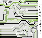 vector circuit board... | Shutterstock .eps vector #557829817