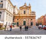 genoa  italy   march 16  2014 ... | Shutterstock . vector #557836747
