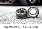 car suspension and car bearing... | Shutterstock . vector #557837203